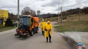 Mesto Bardejov pristúpilo k dezinfekcii verejných priestranstiev