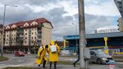 Dezinfekcia verejných priestorov v Bardejove