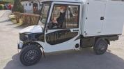 Nové elektrické auto na rozvoz stravy pre seniorov