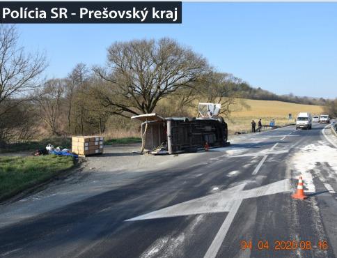 Tragická dopravná nehoda sa vyžiadala jednu obeť