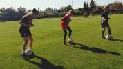 CFT víkend v Bardejove, dievčatá konečne vybehli na trávnik