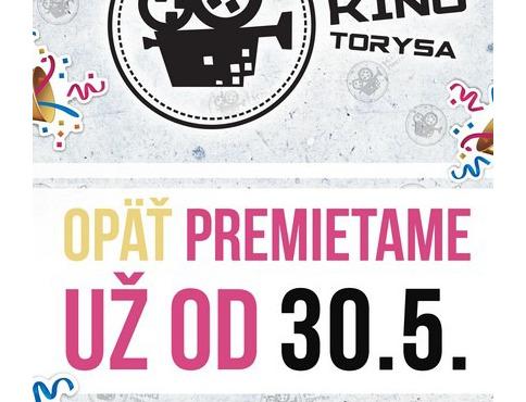 Kino Torysa je od dnes znova otvorené