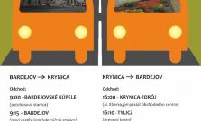 Víkendové prázdninové autobusové spojenie bude opäť fungovať počas nastávajúcich letných prázdnin