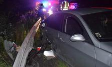 Mladík bez vodičského oprávnenia spôsobil nehodu, v krvi mal takmer 2 promile