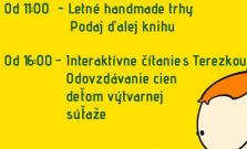 Podajte ďalej knihu a nenechajte si ujsť letné handmade trhy v Prešove