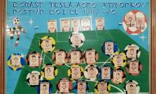 Futbalové legendy zo Stropkova si pripomenuli historický postup do 1. ligy