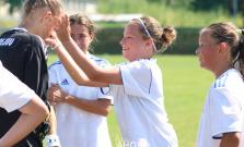 Šikovné mladé futbalistky Partizána Bardejov proti starším súperkám uspeli
