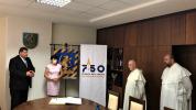 Vranovský primátor slávnostne prijal predstaviteľov Rádu svätého Pavla Prvého Pustovníka