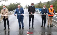 VIDEO   Rekonštrukcia mosta ponad potok Kamenec vo Sveržove úspešne ukončená