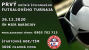 V Bardejove sa uskutoční Štefanský futsalový turnaj, prihlasovanie začalo
