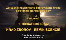 Štartuje prvý ročník celoštátnej fotografickej súťaže, ktorá bude zachytávať Zborovský hrad