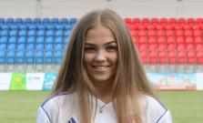 Radka Jacenková - futbalový talent z Bardejova
