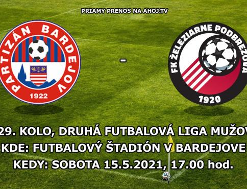 VIDEO | Priamy prenos zo zápasu Bardejov - Podbrezová