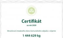 Bardejov získal certifikát za triedený zber komunálneho odpadu