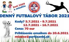 V Bardejove sa uskutoční futbalový tábor pre deti