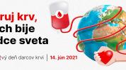 Dnes si pripomíname Svetový deň darcov krvi