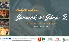 Obec Zborov pozýva na pokračovanie online jarmoku