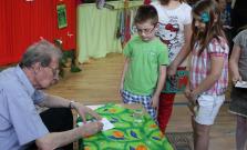 Spisovateľ T. Janovic navštívil ZŠ Komenského 23