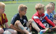 Prebieha letný celodenný futbalový kemp