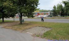 Rekonštrukcia chodníka pri OD Centrum