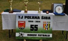 55 rokov futbalu v obci Šiba