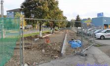 Rekonštrukcia chodníka pri Centrume