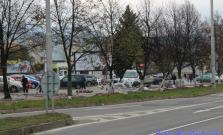 Pokračovanie výstavby chodníka na Dlhom rade
