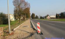 Výstavba chodníka