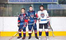 Najlepší mladí hokejisti za mesiac november