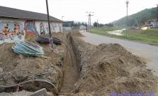 Pokračuje výstavba protipovodňovej ochrany