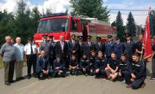 V Zborove majú nové hasičské auto