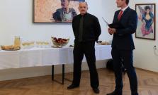 Výstava obrazov poľského umelca