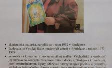 Bardejovčanka Nadežda Ždiňáková vystavuje