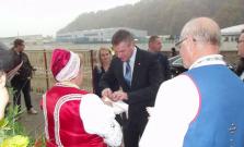 Predseda Národnej rady Slovenskej republiky P. Pellegrini navštívil seniorov
