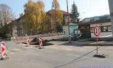 Rozkopávky na Fučíkovej ulici