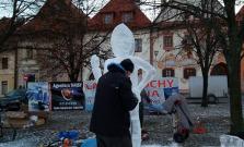 Ľadové sochy v Bardejove