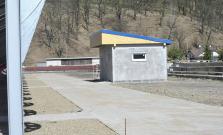 Pokračuje výstavba futbalového štadióna - apríl 2016
