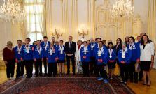 Prezident Andrej Kiska prijal Bardejovčana Milana Pumpu