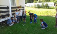 Žiaci zo ZŠ B. Krpelca sa vybrali na letný tábor