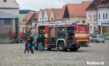 Radničné námestie patrilo hasičom a hasičkám