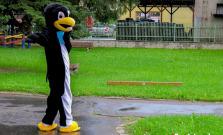 Tučniak Bardík privítal malých škôlkarov