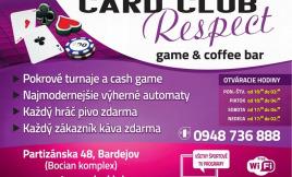 Card club Respect