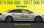 Yellow - Green taxi