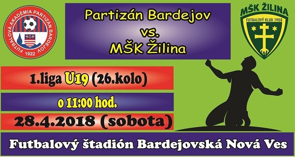 b662cd7d69498 Futbal: Partizán Bardejov - MŠK Žilina, U19 | Podujatie | udalosti ...